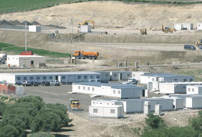 Touax Maroc Construction Modulaire Batiment Temporaire